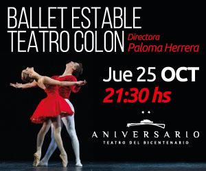 Ballet Teatro Colón Teatro del Bicentenario