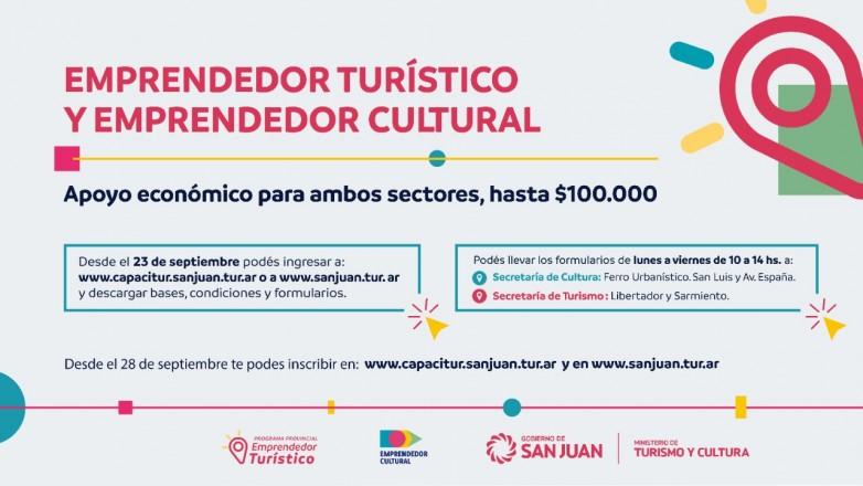 Destinaran 24 millones de pesos para los sectores turistico y cultural