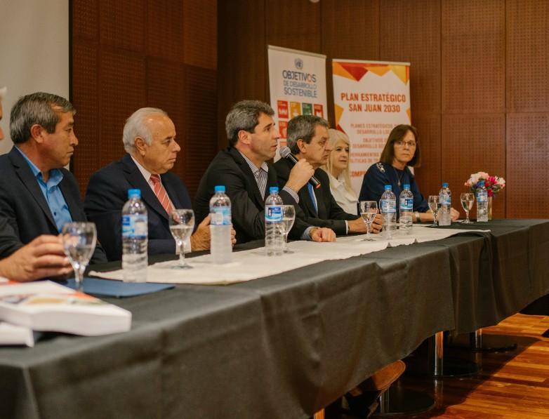 Angaco, 25 de Mayo, Sarmiento, Ullum y Zonda definieron su estrategia departamental hacia el 2030 - SI SAN JUAN
