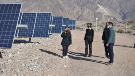 La visita a Anchipurac se extiende hasta el Parque Solar