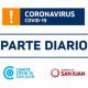 Parte de Salud Pública sobre coronavirus Nº272 - 25/11