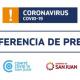 Conferencia de prensa sobre la situación provincial de COVID-19